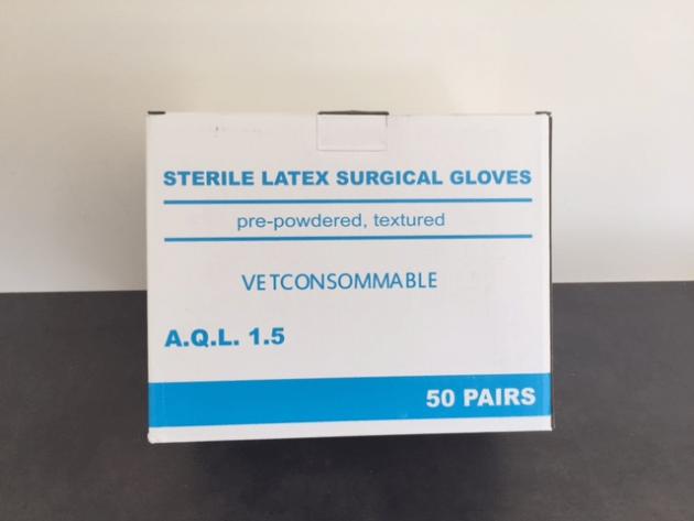 Gants de chirurgie stériles