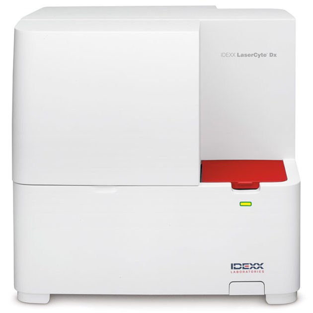 Analyseur d'hématologie LaserCyte Dx
